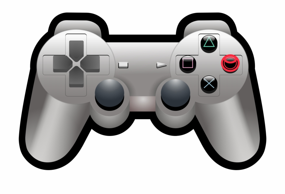 Video Game Controller Transparent Background Gaming Clipart.