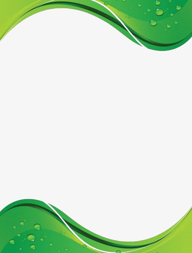 Green Wavy Background PNG, Clipart, Background, Green, Green.