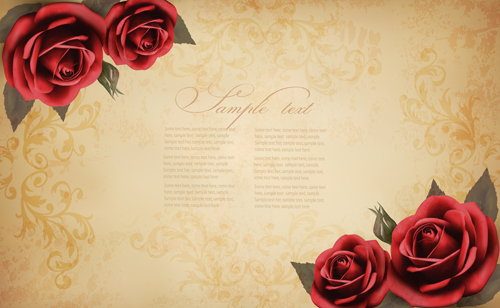 Background Images With Roses.