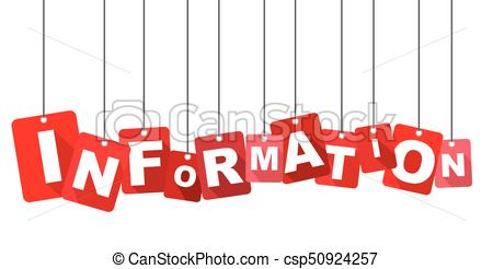 Red vector flat design background information. It is well adapted for web  design..