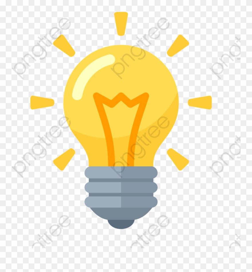 Light Bulb Png Vector.