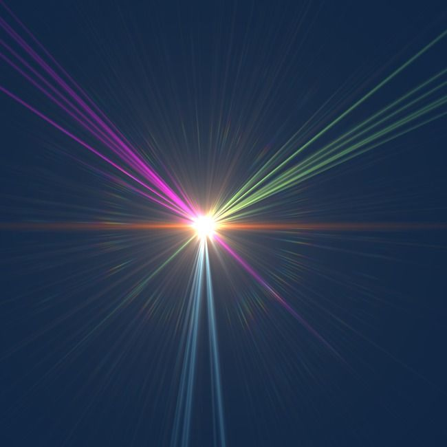 Tech Light Effect, Beam, Light Effect, Glare PNG Transparent.