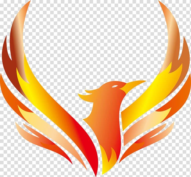 Logo Phoenix Illustration, Phoenix logo design, phoenix.