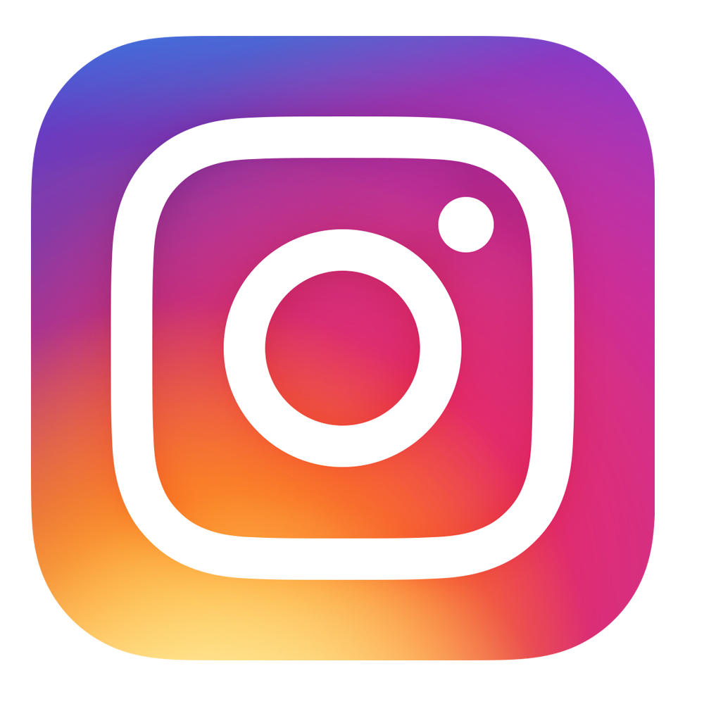 Instagram Logo PNG Transparent Background.
