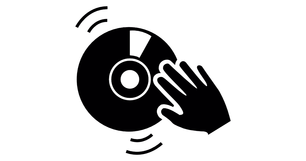 Disc jockey Remix Icon.
