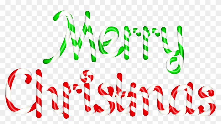 Merry Christmas Transparent Png Clip Art.