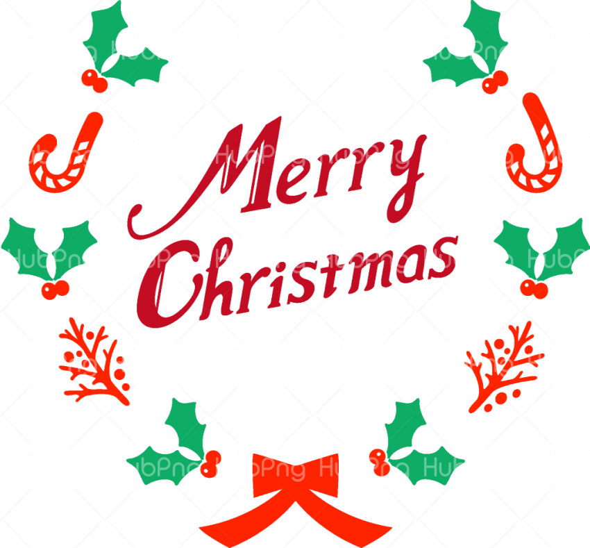 Text merry christmas clipart png Transparent Background.