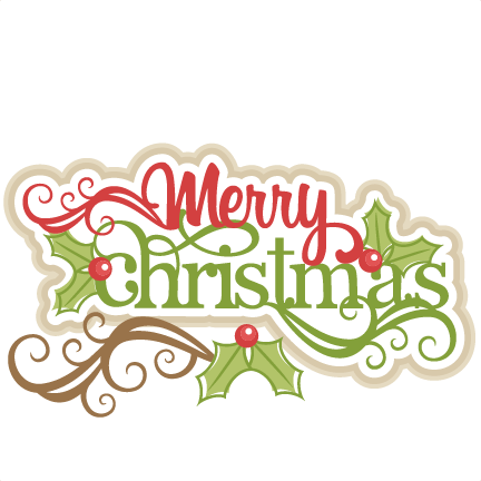 Merry Christmas PNG File #27755.