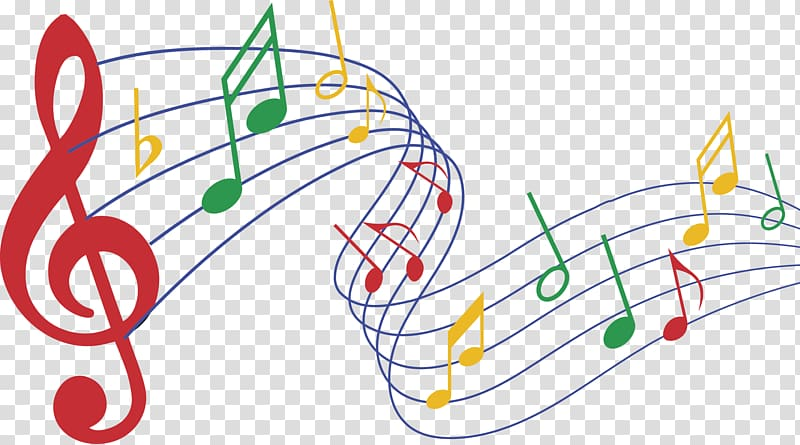 Musical note , listen music transparent background PNG.