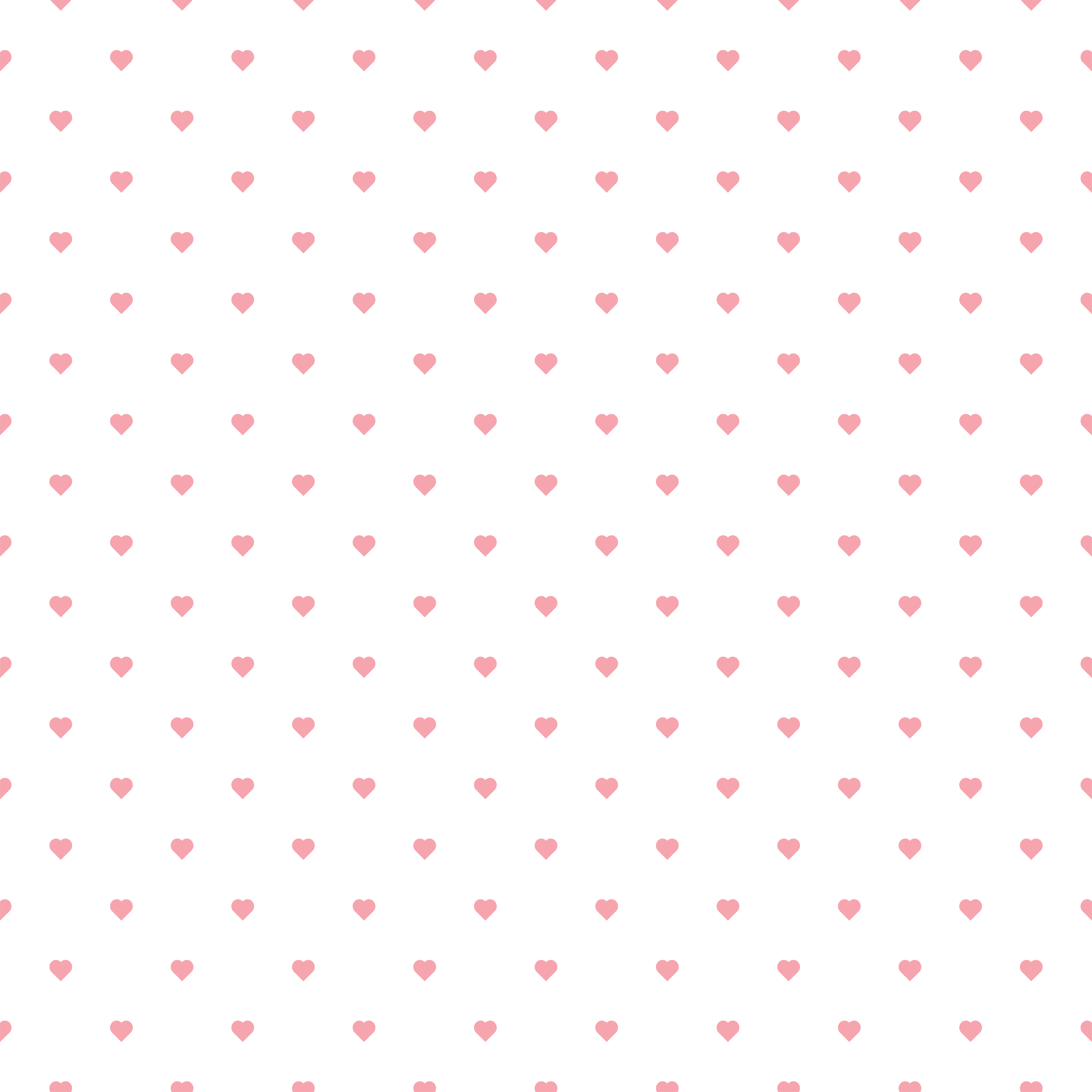 Pink Hearts for Background PNG Clip Art Image.