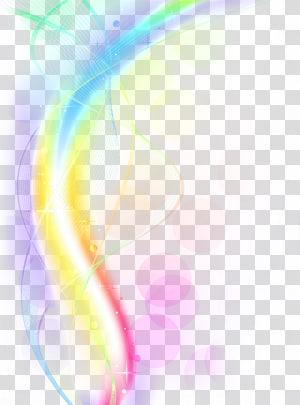 Rainbow , Light Euclidean Computer file, Cool light effects.