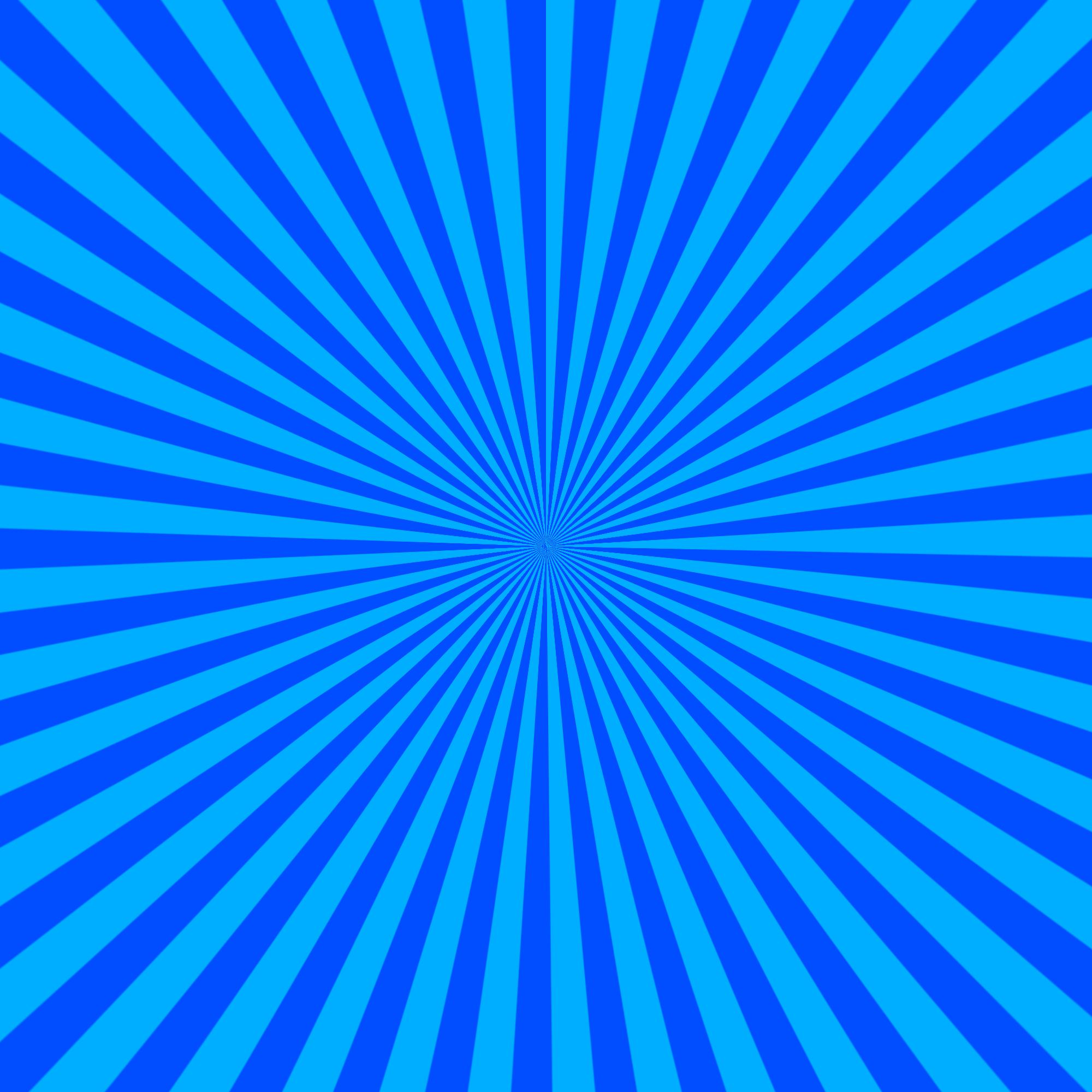 Blue sunburst photoshop background png #24705.