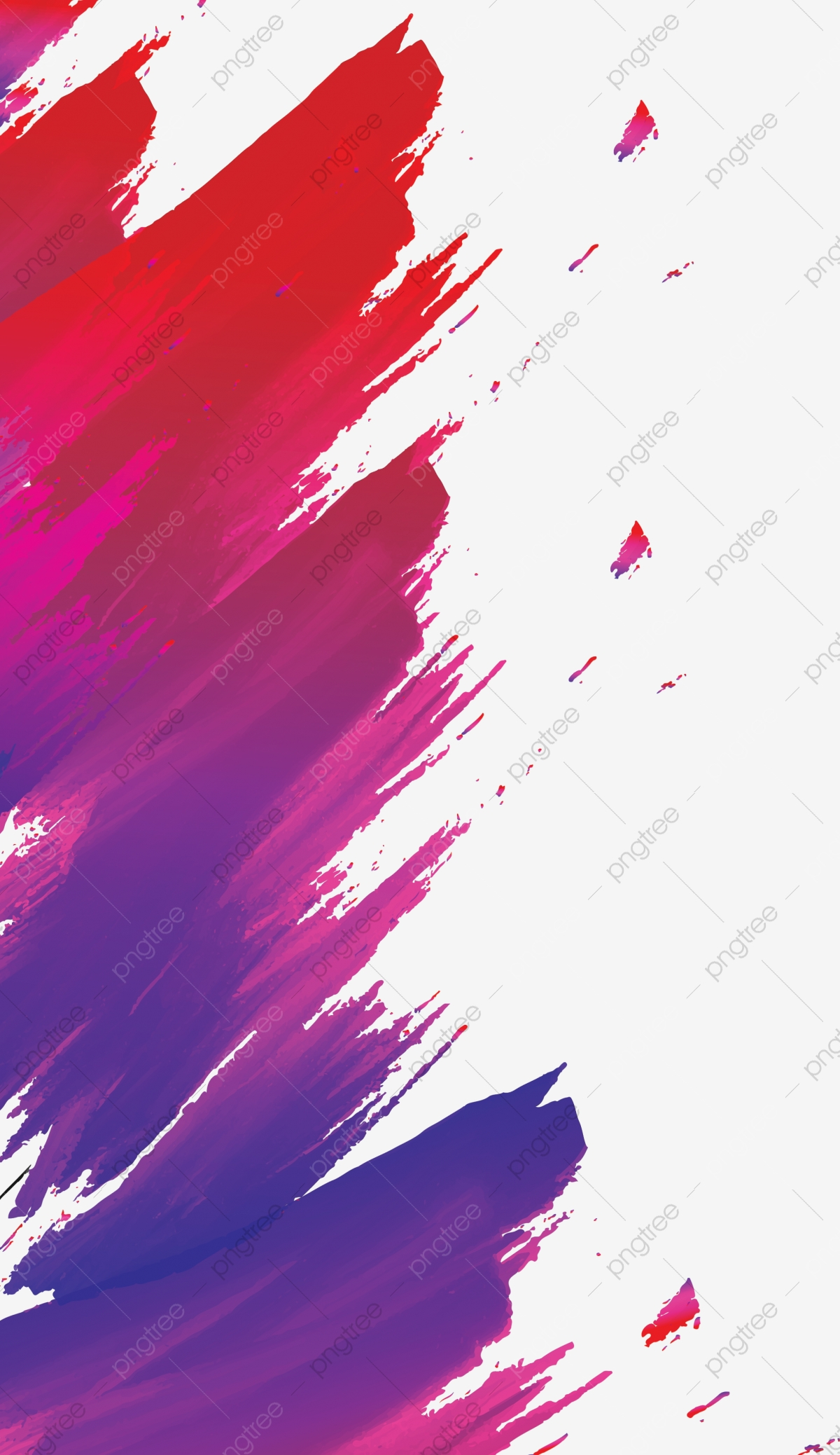 Colorful Poster Background, Bright, Watercolor, Color PNG.