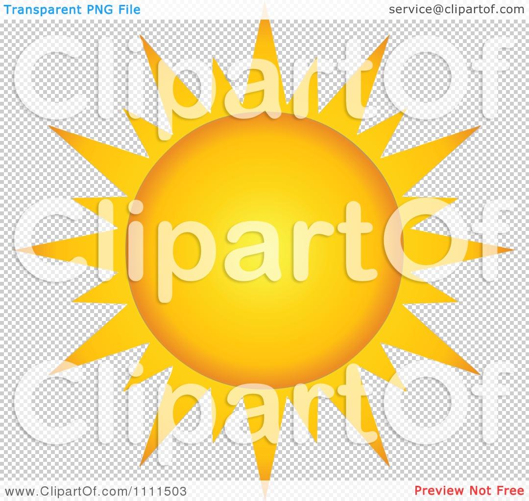 Clipart Sun With Sharp Rays.