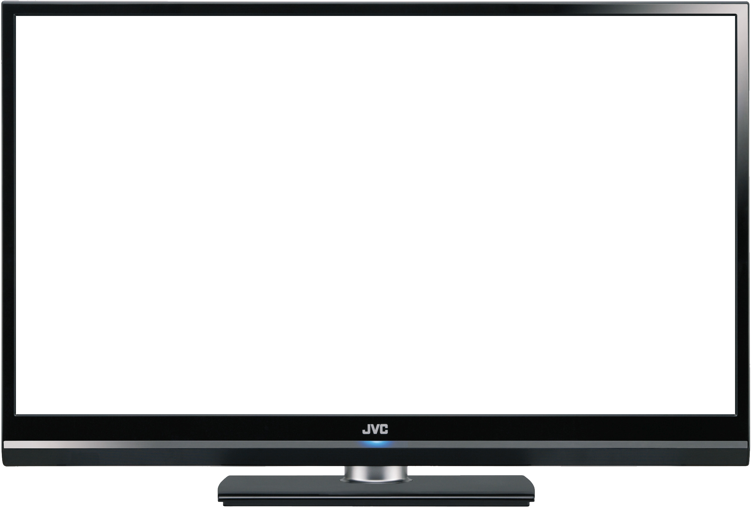 Tv clipart white without background.