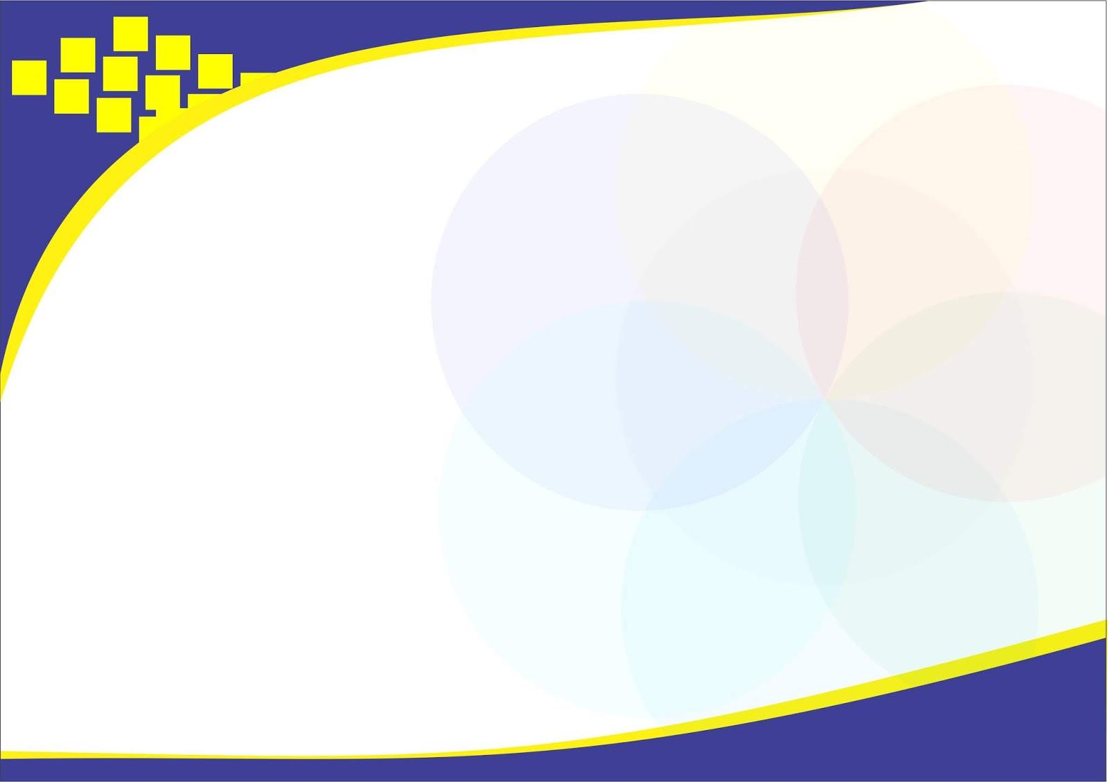 Contoh Desain Sertifikat Kosong PNG.
