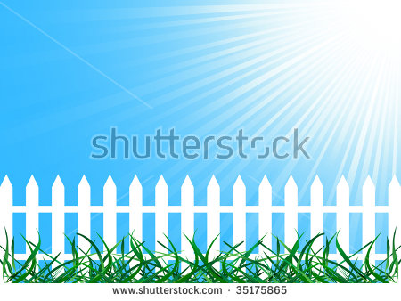 Spring Vector Background Growing Sprout Garden Stock Vector.