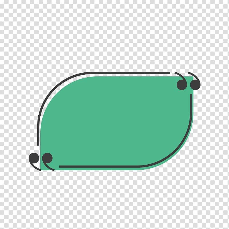 Green illustration, Text box Gratis, Fresh green text box.