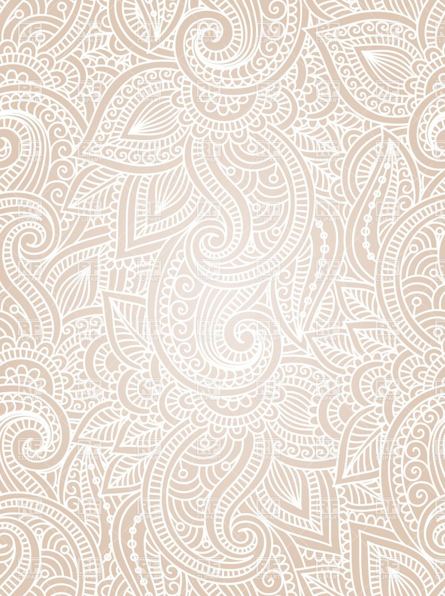 Indian seamless background Vector Image.