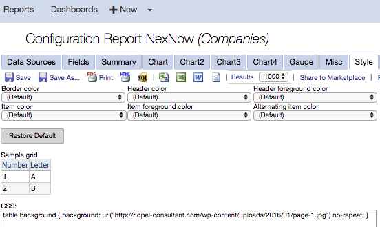 Create a Report Cover in ConnectWise Report Writer Using Custom CSS.
