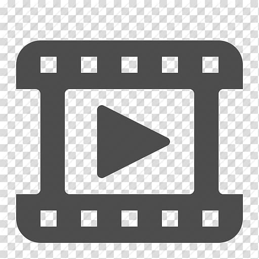 Black video logo, Video Icon, Video Icon transparent.