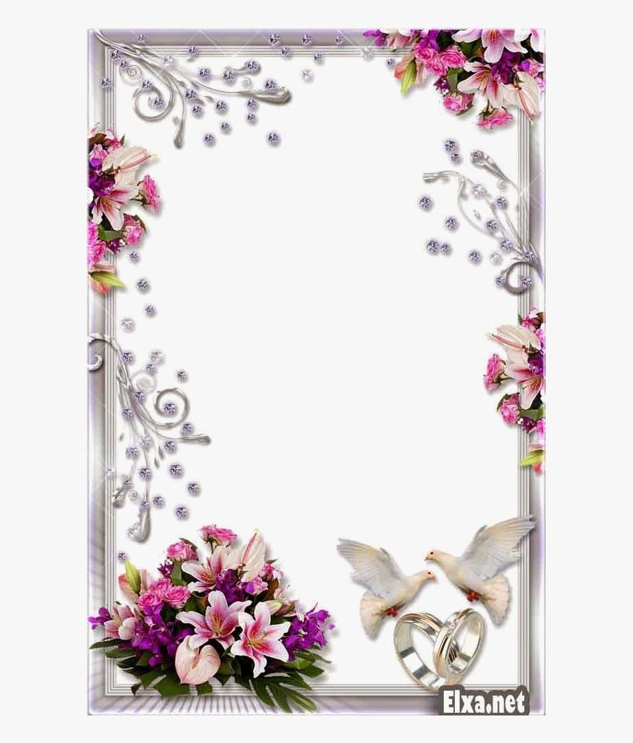 Wedding Frame Png Transparent Background.