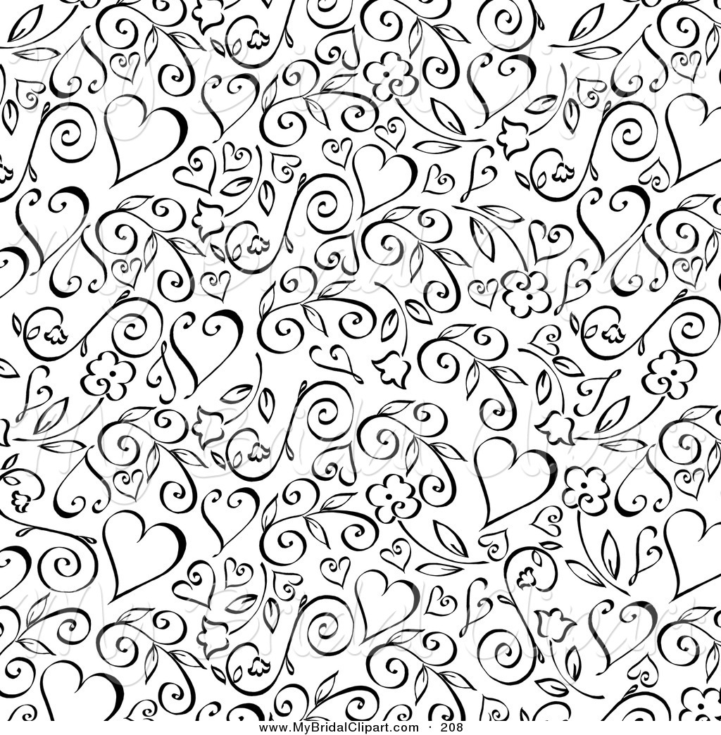 63+] Black And White Heart Background on WallpaperSafari.