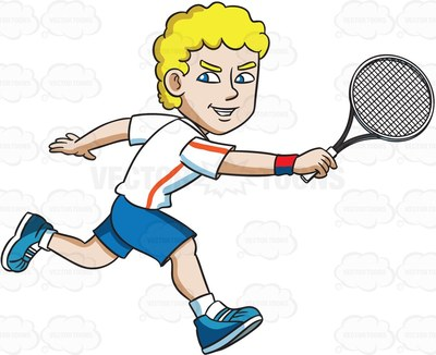 topspin Clipart.