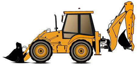 2,814 Backhoe Cliparts, Stock Vector And Royalty Free Backhoe.