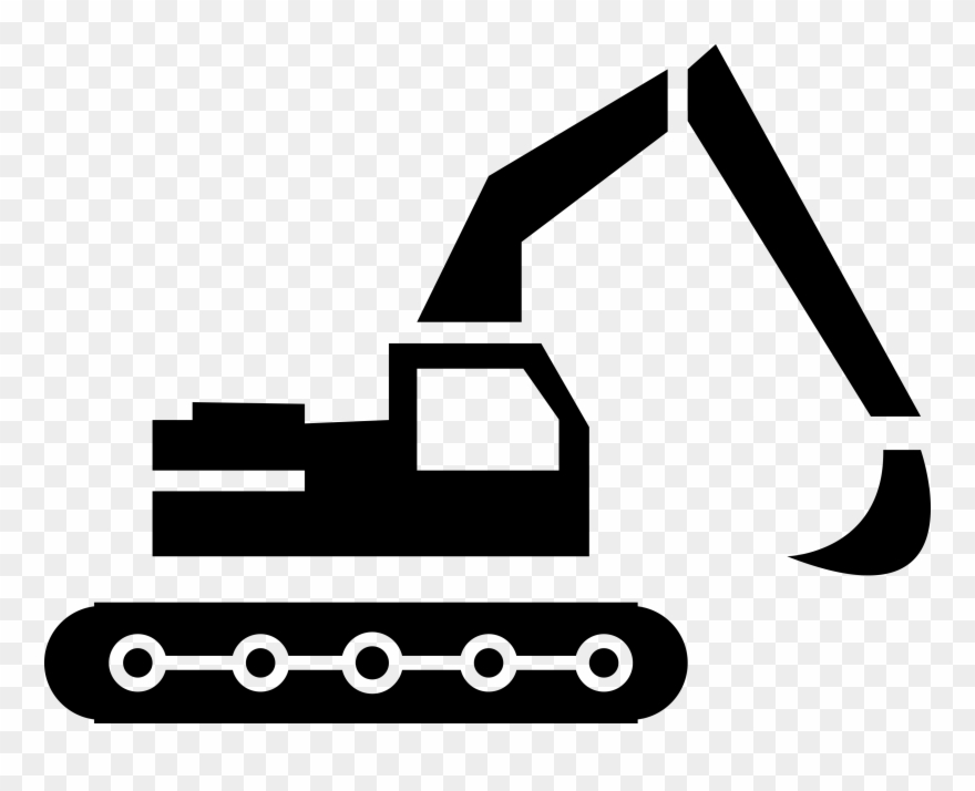 Banner Library Backhoe Clipart Engineering Equipment.