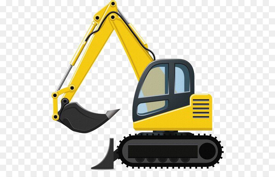 Caterpillar Inc Excavator Backhoe Clip Art Png Download Good Clipart.