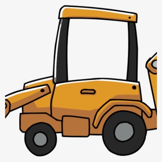 Free Backhoe Clip Art with No Background.