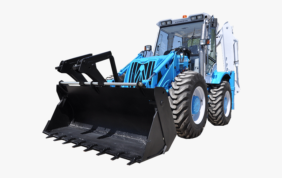 Graphic Black And White Stock Backhoe Clipart Case.
