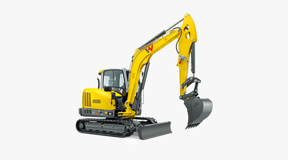 Excavator Clipart Construction Machinery.