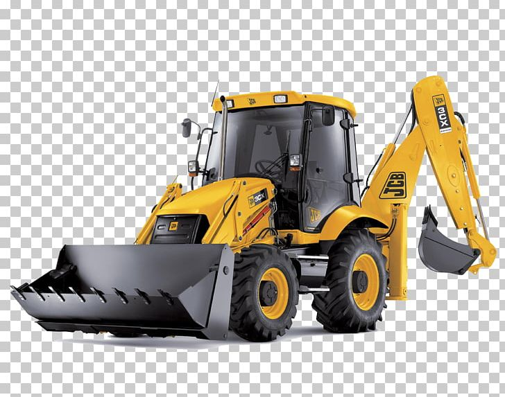 JCB Backhoe Loader Excavator PNG, Clipart, Agriculture, Backhoe.