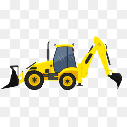 Backhoe Png, Vector, PSD, and Clipart With Transparent Background.