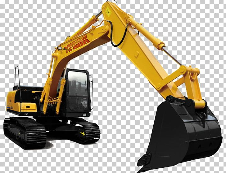 Heavy Machinery Bulldozer Excavator Backhoe PNG, Clipart.
