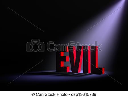 Drawings of Revealing Evil.