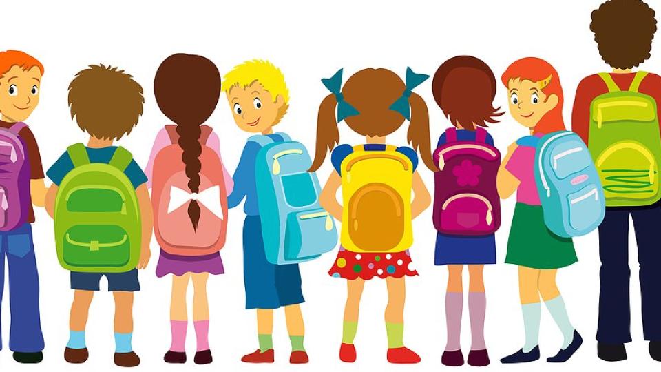 Backpack clipart kid backpack, Backpack kid backpack.
