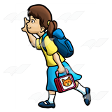 Lunchbox clipart backpack lunchbox, Lunchbox backpack.