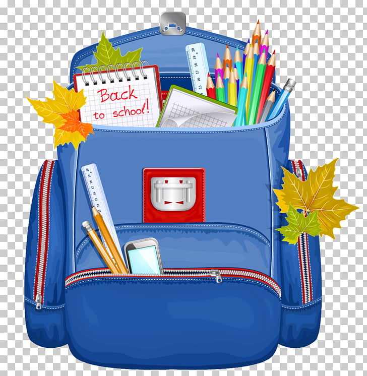 Backpack School Bag , back to school, school supplies inside.