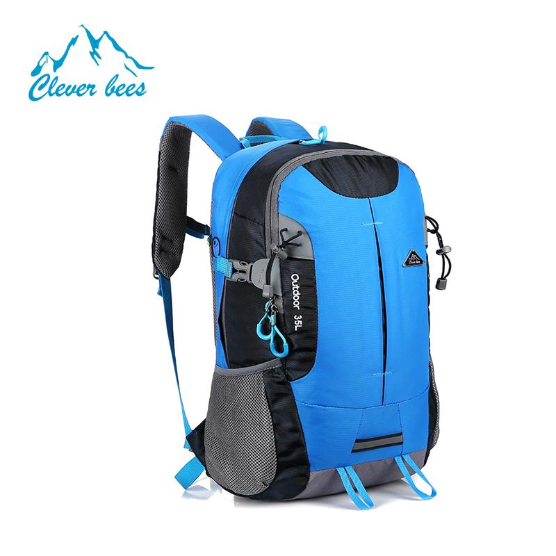 Factory Wholesale Printed Custom Waterproof Nylon Polyester Drawstring  Backpack Brands Logo Outdoor Hiking Backpack.