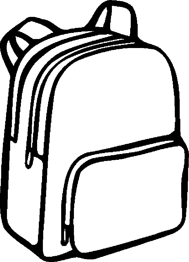 Backpack images of school supplies free download clip art.
