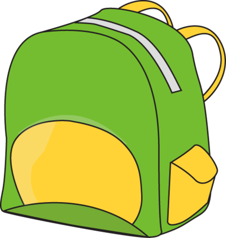 Free backpack clipart clip art images image.