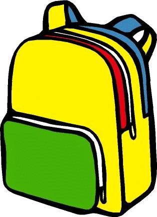 bookbag clipart #8