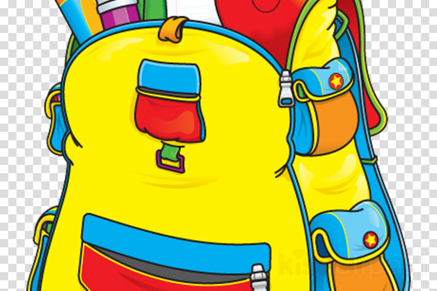 Backpack, School, Bag, transparent png image & clipart free.