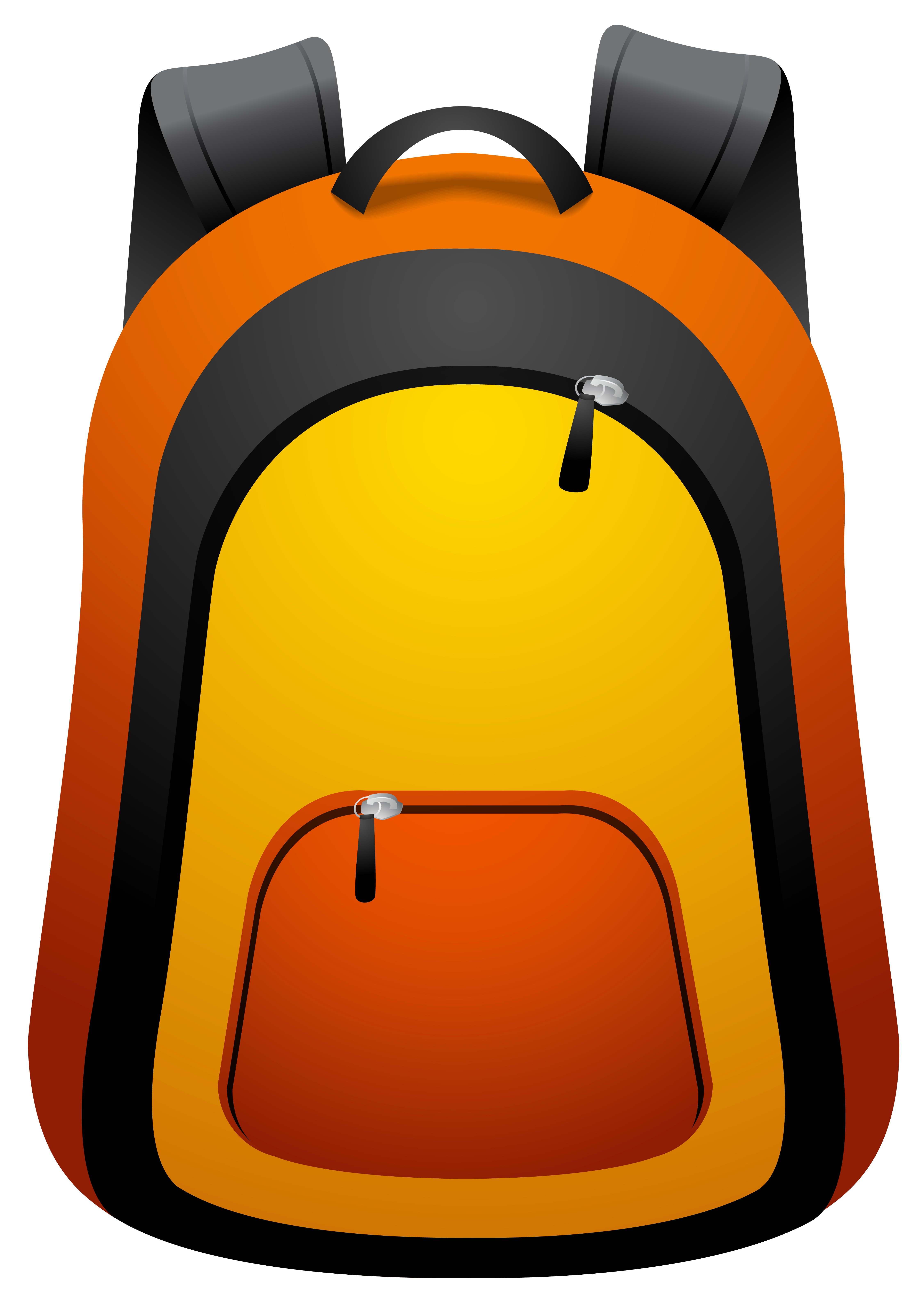Backpack PNG Clipart Image.