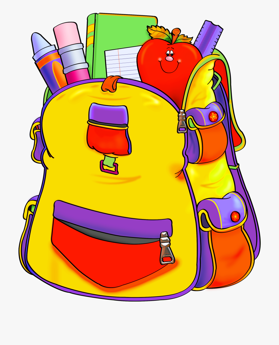 Backpack Clipart Empty Backpack.