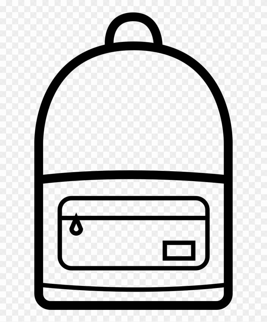 Clipart Book Backpack.