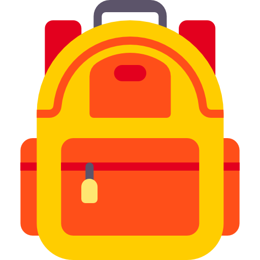 backpack icon.